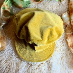 Accessories - Cute Nordstrom velvet train engineer cap
